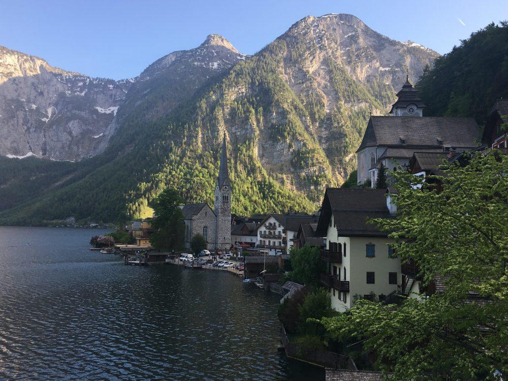 Hallstatt Austria https://playhardertours.com/beerquest-2018-hallstatt/