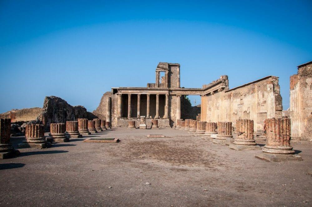 The Main Forum in Pompeii