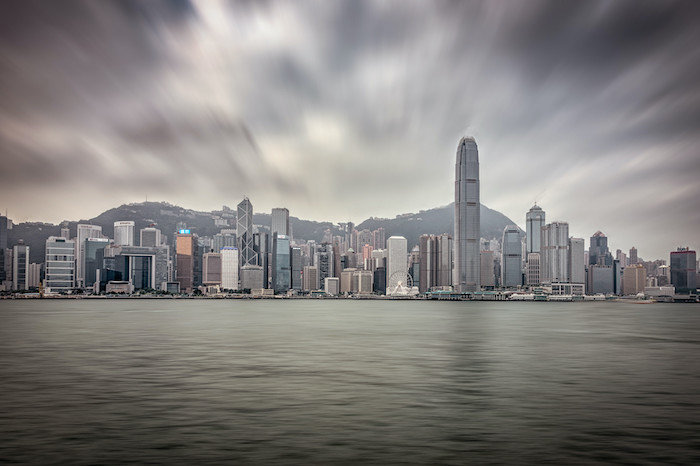 A View of Hong Kong, before our cruise to asia