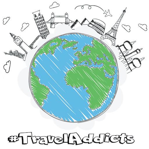Travel Addicts Logo 512x512
