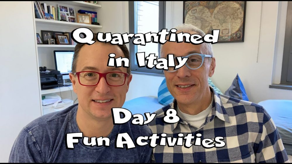 Rick and Andrea Living In Italy under quarantine and lockdown