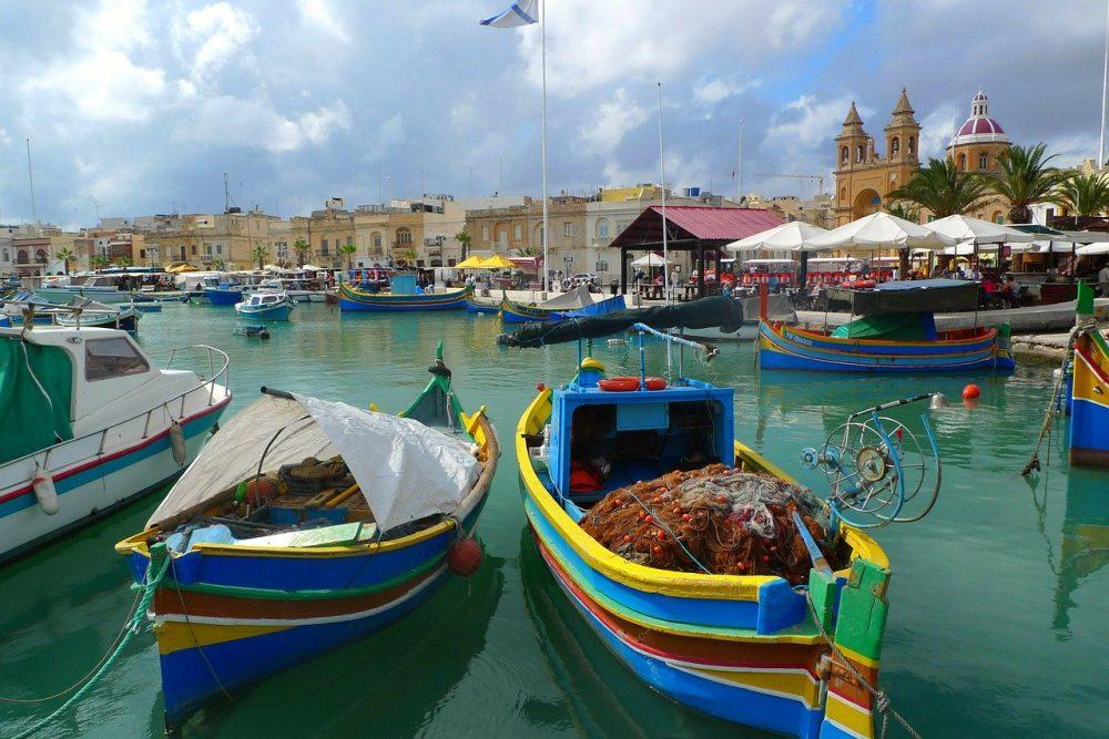 Fishing Boat in Malta